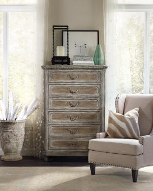 Hooker Furniture Raleigh Six-Drawer Chest
