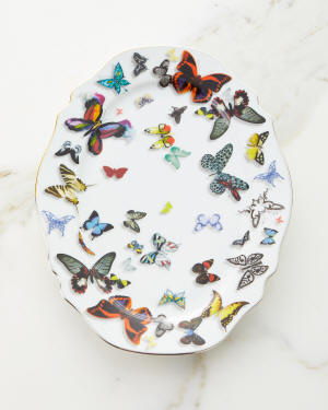 Christian Lacroix Butterfly Parade Small Platter
