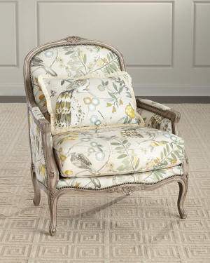 Massoud Honora Bergere Chair