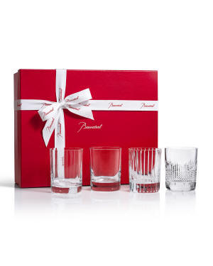 Baccarat Four Elements Double Old-Fashioneds, Set of 4