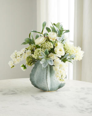 John-Richard Collection Seashells Floral Arrangement