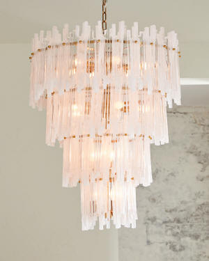 Sterling Industries Brinicle 18-Light Chandelier